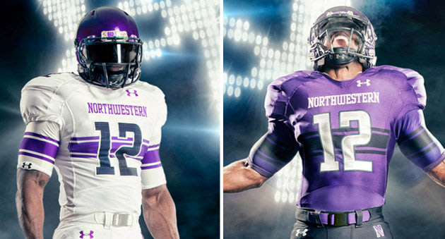dac39d55e When Northwestern unveiled their new Under Armour uniforms before the  season I thought they hit a home run. I always like it when a team steps  outside the ...