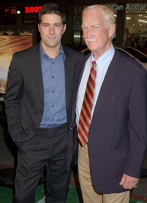 Matthew Fox and Red Dawson at the Hollywood premiere of Warner Bros. Pictures' We Are Marshall