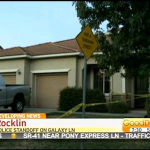 Standoff Between Police, Armed man Unfolding In Rocklin Neighborhood