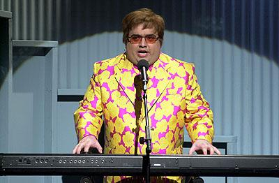 Horatio Sanz as Elton John on NBC's Saturday Night Live Saturday Night Live