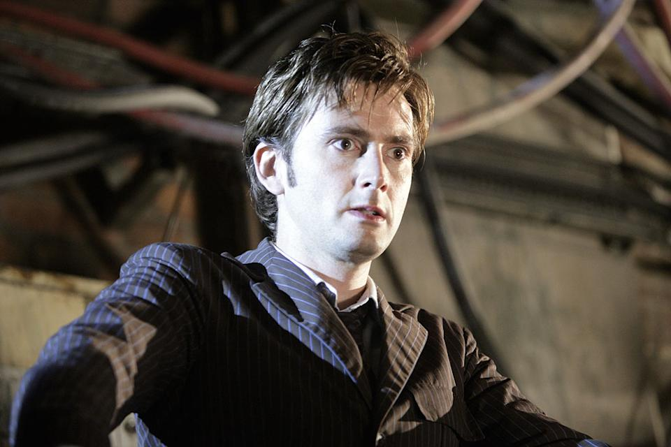 David Tennant stars in Doctor Who on the SciFi Channel.