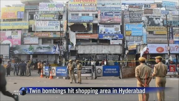 India police say were warned about Hyderabad bomb