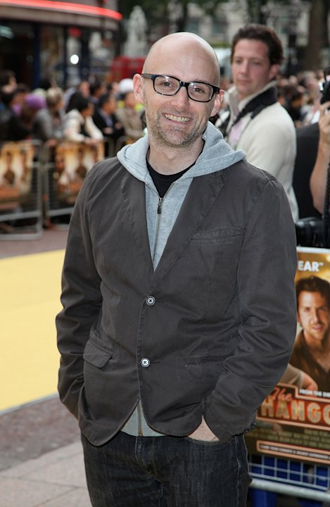 The Hangover UK Premiere 2009 Moby