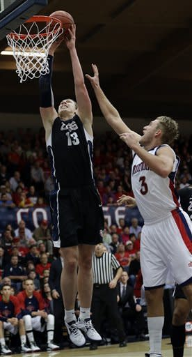 No. 5 Gonzaga beats Saint Mary's 77-60