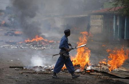 U.S. suspends Burundi peacekeeping training over protests