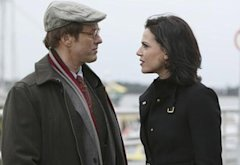 Raphael Sbarge and Lana Parrilla  | Photo Credits: Jack Rowand/ABC