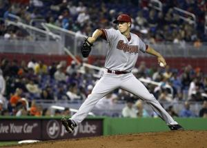 Rookie Corbin pitches Arizona past Marlins 9-5