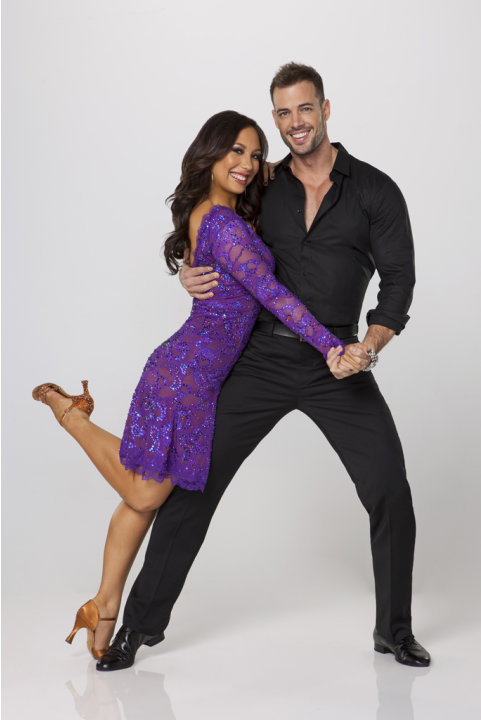 "William Levy teams with professional dancer Cheryl Burke on Season 14 of ""Dancing With the Stars."""