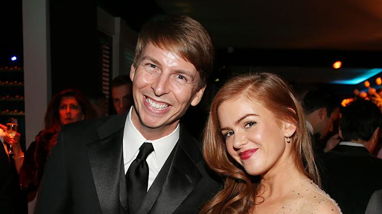 "NBC's ""70th Annual Golden Globe Awards"" - Party: Jack McBrayer and Isla Fisher"