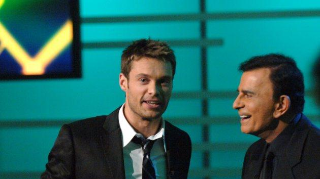 Ryan Seacrest and Casey Kasem -- Getty Images