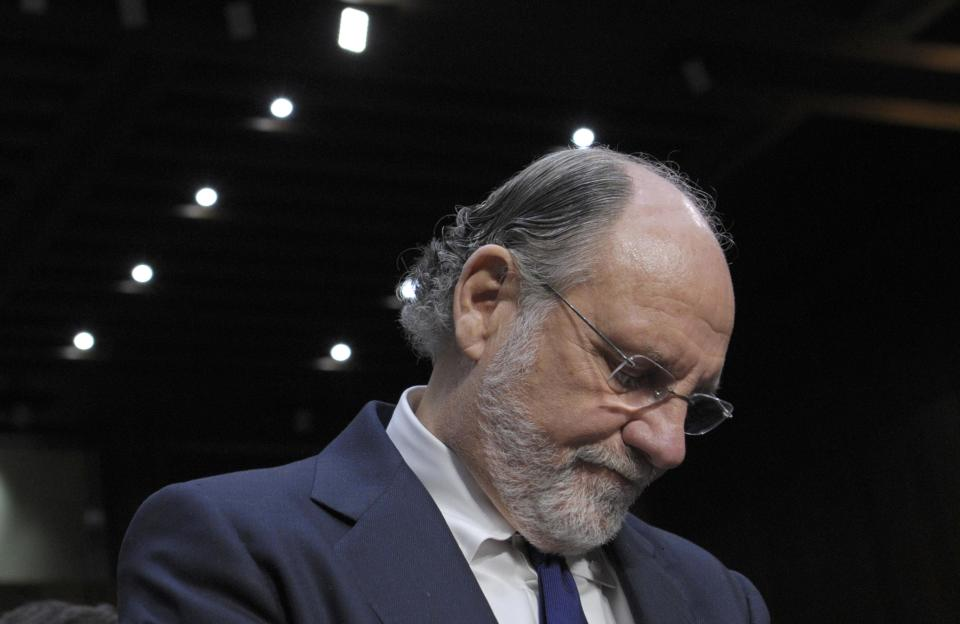 MF Global's trustee sues former CEO Corzine