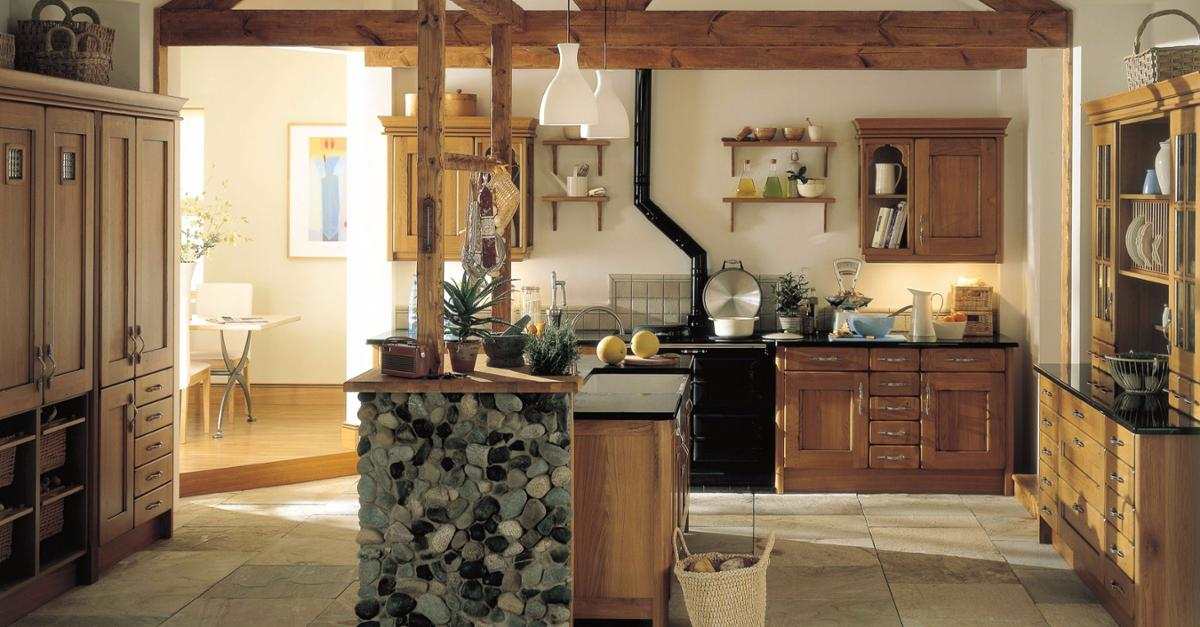 24 Jaw Dropping Country Kitchen Designs