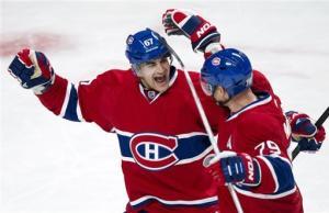 Markov scores twice as Montreal beat Florida 4-1
