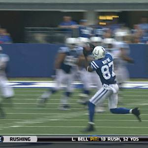 Indianapolis Colts wide receiver Reggie Wayne's historic catch