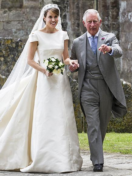 Prince Charles Gives His Friend's Daughter Away at Her Wedding – and the Queen Was On-Hand to Watch!