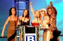 File photo shows Spice Girls receiving award at Brit Awards in London