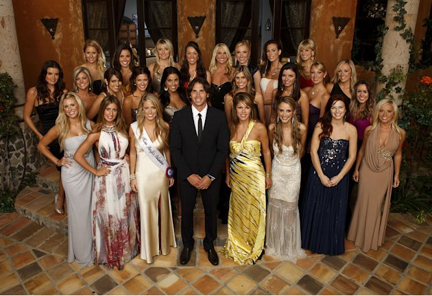 The cast of &quot;The Bachelor.&quot; 
