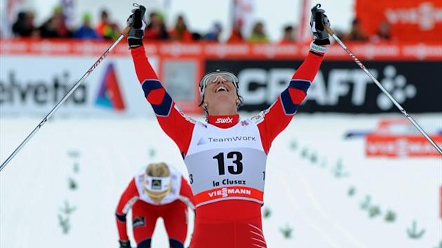 Norway's Marit Bjoergen (AFP)