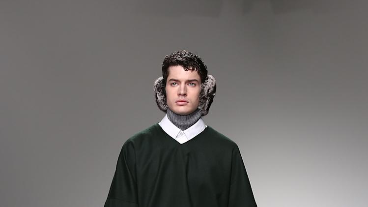 Shaun Samson: Catwalk - London Collections: MEN AW13