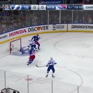 Ben Bishop Save on Rick Nash (06:41/1st)