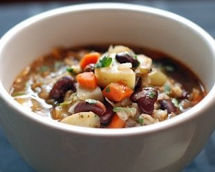 Bean and Barley Soup