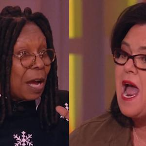 Whoopi and Rosie Get Into a Screaming Match on 'The View'