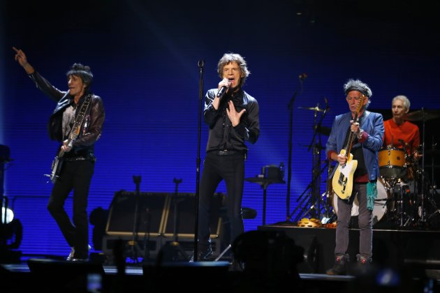 British rock band The Rolling Stones perform during their &quot;50 &amp; Counting&quot; tour in Anaheim