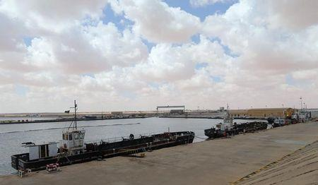 A view of Es Sider export terminal in Ras Lanuf