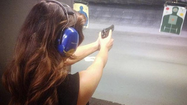 Kim K. Fans Outraged Over Gun Pic (ABC News)