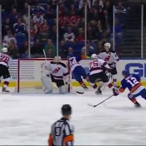 Devils at Islanders / Game Highlights
