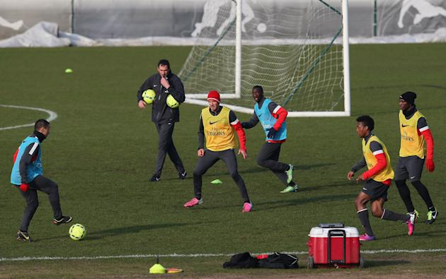 Paris Saint-Germain FC Training Session