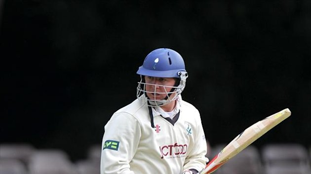 Gary Ballance hit a half-century but the England Lions still fell to defeat against Victoria