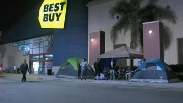 People already camping out for Black Friday deals