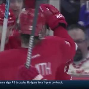 Gustav Nyquist Goal on Andrew Hammond (05:43/2nd)