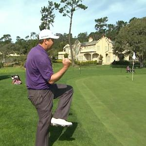 J.J. Henry's beautiful birdie chip-in at AT&T Pebble Beach