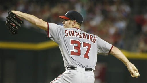Strasburg leads Nationals again