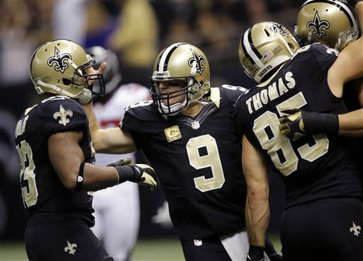 Saints end Falcons unbeaten run with 31-27 win
