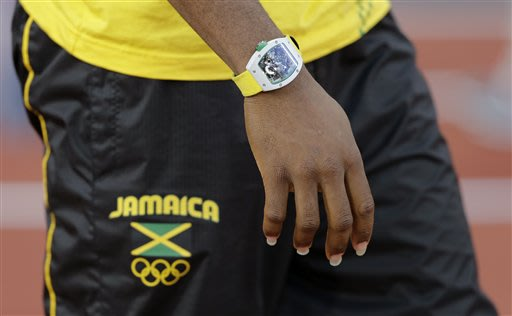 Yohan Blake's $500K watch