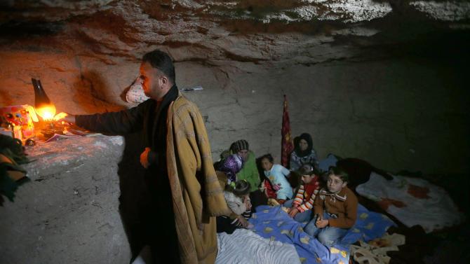 Syria hiding