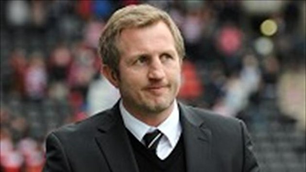 Denis Betts, pictured, will be without Gareth Hock for the Wigan clash