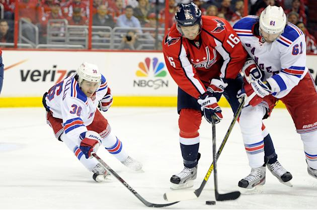 New York Rangers v Washington Capitals - Game One
