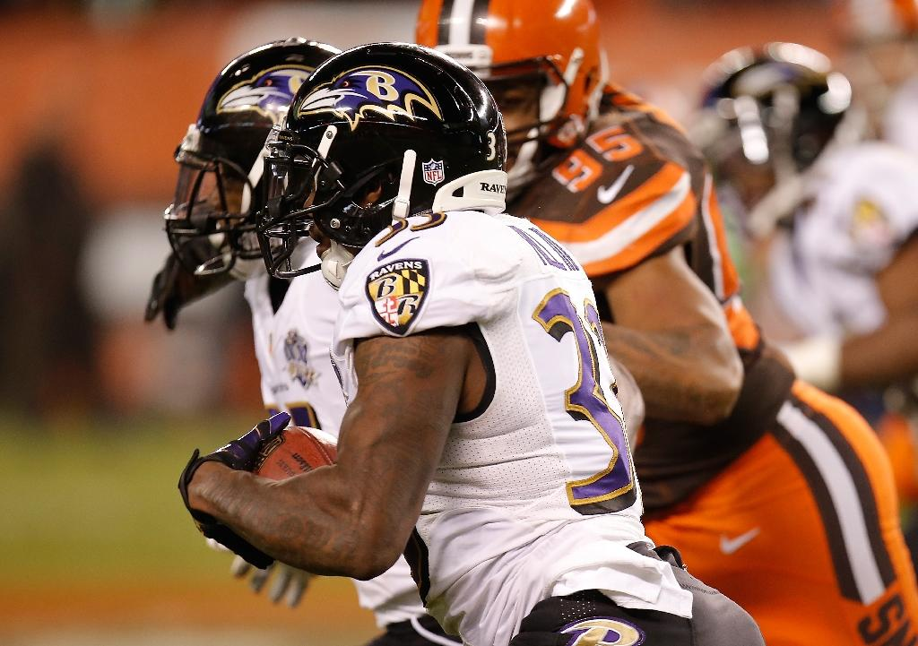 Last-gasp drama as Ravens stun Browns