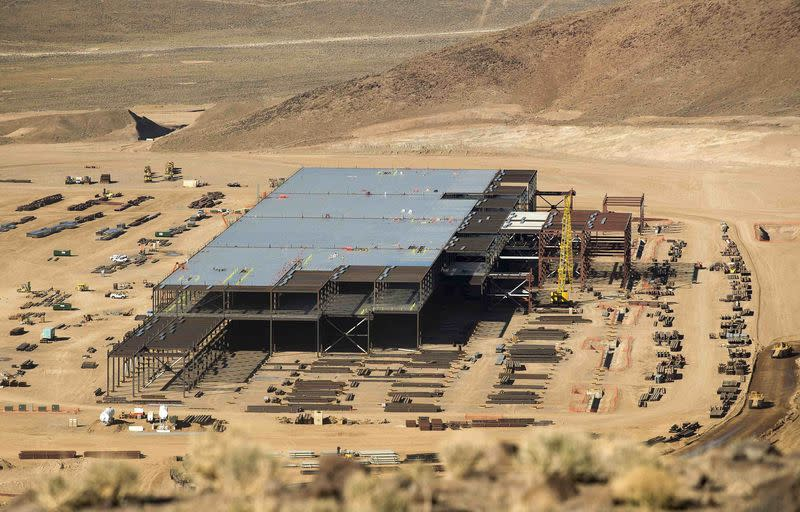 Tesla says Nevada battery plant on track despite report of delay