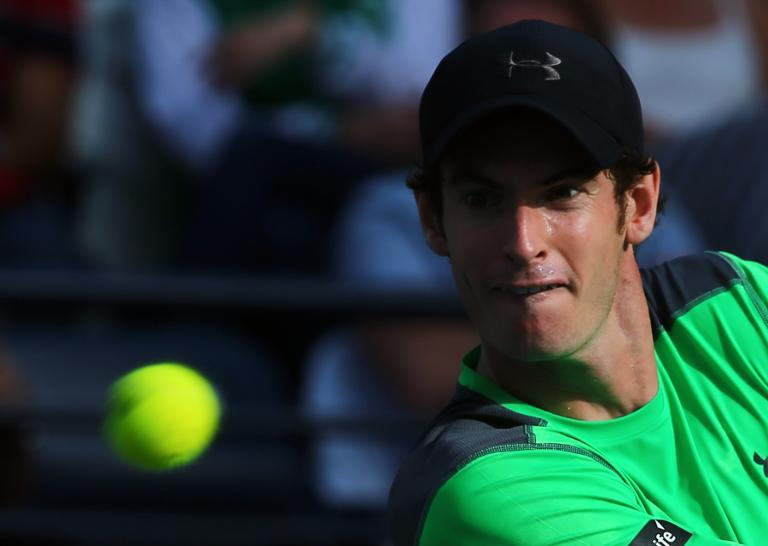 Murray opens Britain's Davis Cup tie with USA