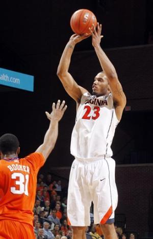 Scott leads No. 16 UVA past Clemson, 65-61