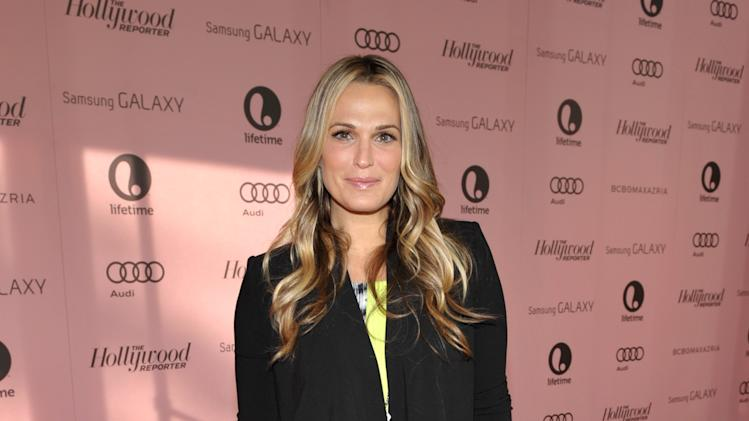 IMAGE DISTRIBUTED FOR THE HOLLYWOOD REPORTER - Actress Molly Sims arrives at The Hollywood Reporter's 21st Annual Women in Entertainment Power 100 breakfast presented by Lifetime on Wednesday, Dec. 5, 2012 in Beverly Hills, Calif.  (Photo by John Shearer/Invision for The Hollywood Reporter/AP Images)