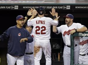 Kluber helps Indians beat Royals 3-0