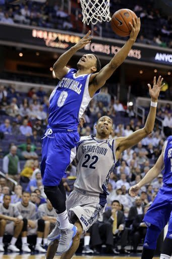 Georgetown tops Seton Hall 74-52 for 5th win in 6