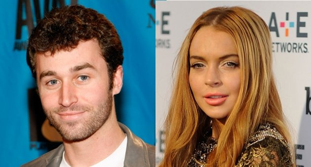James Deen, Lindsay Lohan -- Getty Images