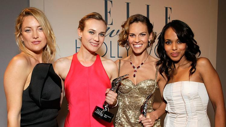 Elle's 17th Annual Women in Hollywood Tribute 2010 Kate Hudson Diane Kruger Hilary Swank Kerry Washington